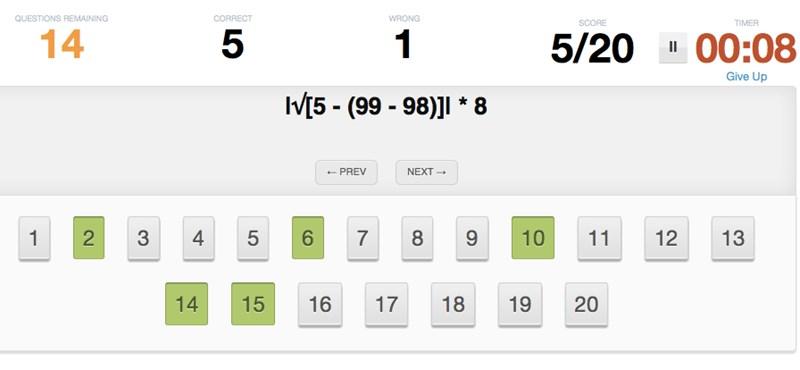 Háromperces, zseniális matekteszt: hány feladatot tudtok megoldani?