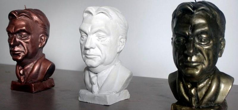 Venne Orbán Viktor-formájú adventi gyertyát?
