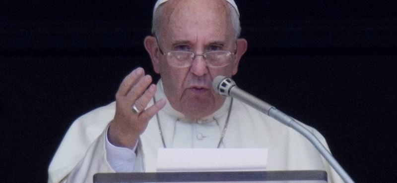 Ferenc pápa: Minden európai katolikus templom fogadjon be egy menekült családot - videó