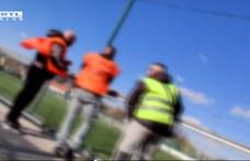 Ötven nézőből lett biztonsági őr egy pomázi meccsen