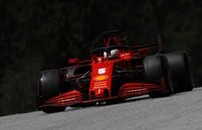 A szabadedzéseken nem volt ellenfele Hamiltonnak, Vettel nagyon lemaradt