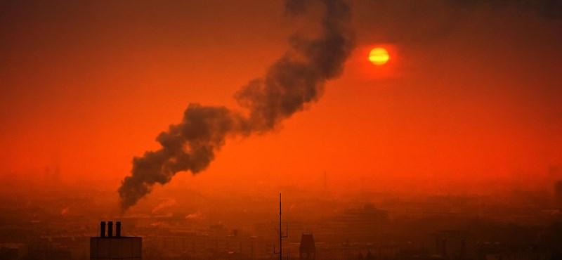 Hét magyar településen egészségtelen a levegő