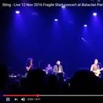 Sting koncertjével nyitott meg a Bataclan