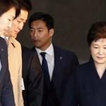 Letartóztatták Dél-Korea leváltott elnökét