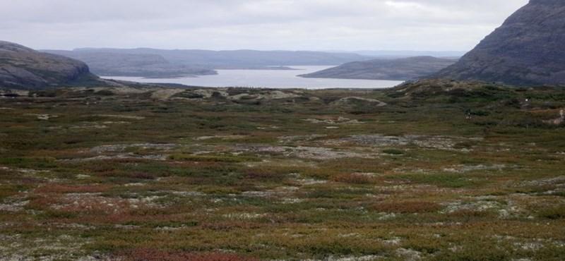 Kanadában is nagy a baj: gyorsabban olvad a sarkvidéki fagyott talaj, mint gondolták