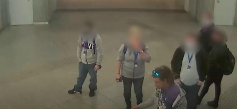 Biztonsági őrt bántalmazott egy férfi a Keleti Pályaudvarnál