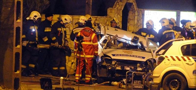 Börtönre ítélték az ittasan két rendőr halálát okozó sofőrt
