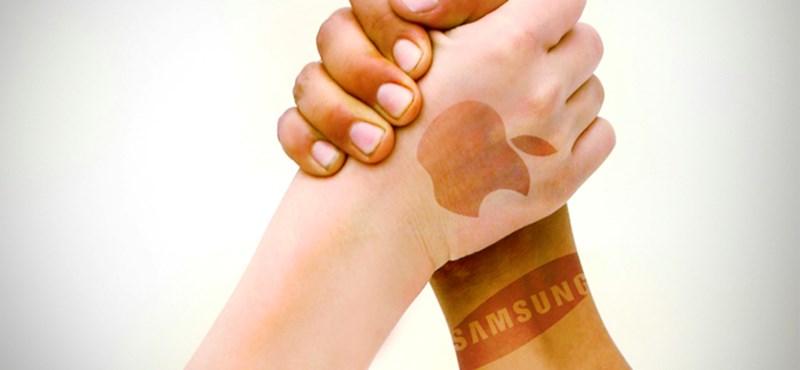 Nem békült az Apple és a Samsung, jöhet a bíróság döntése