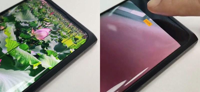 Videó: A kijelző alá dugta a szelfikamerát az Oppo