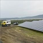 Különleges fotó készült Magyarország legnagyobb naperőművéről