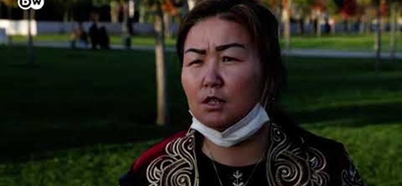 A nő, aki kijutott a kínai ujgur átnevelő táborból