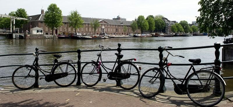 Elegük van az amszterdamiaknak a turistákból, megzaboláznák a turizmust
