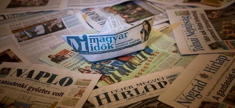 Médiakutatók szerint nyílt törvénysértés zajlik a médiagóliát megalakulásával