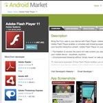 Adobe Flash 11.1 Android 4.0-ra