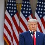 Donald Trump még soha nem járt ilyen közel a vereség elismeréséhez, de azért nem mondta ki