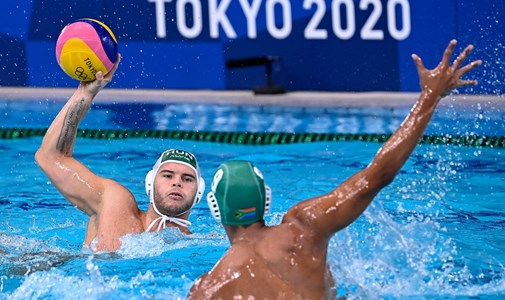 Hungarian men's water polo team beat South Africa 23-1, Kapas finished fourth - minute by minute around the Olympics