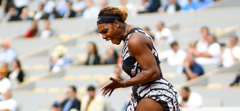 Serena Williams lesérült