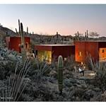 Egy izgalmas nomád ház kaktuszokkal