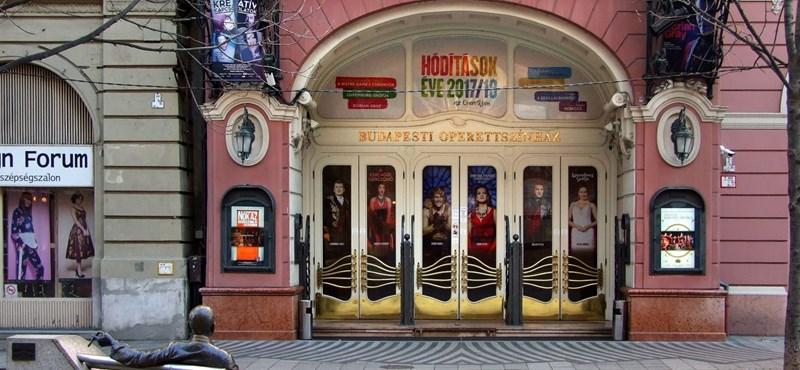 Koronavírus-gyanú miatt elmarad az Operettszínház összes előadása a héten