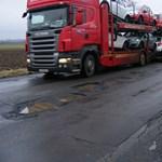 Rendet vágtak a Tokaj környéki teherforgalomban