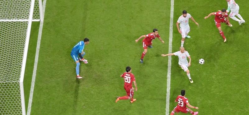 Irán – Spanyolország 0-1