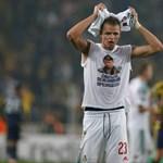 Duplán megbüntették a Putyin-mezzel provokáló focistát