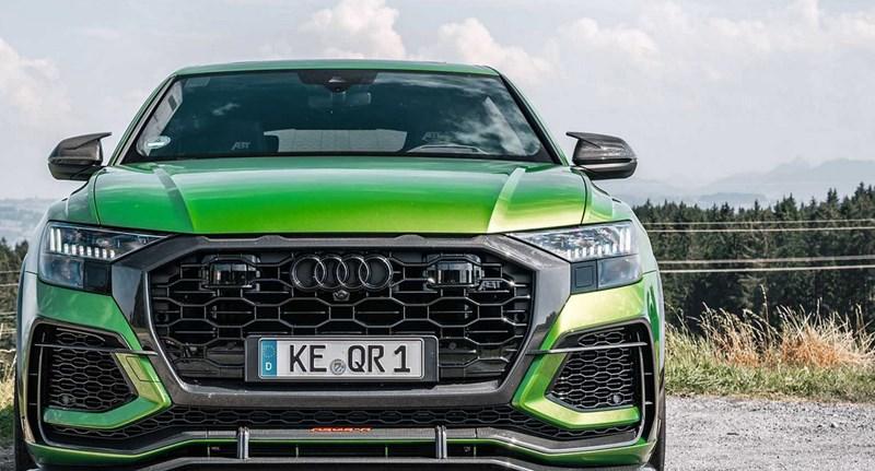 Így gyorsul a 740 lóerős Audi Q8 – videó