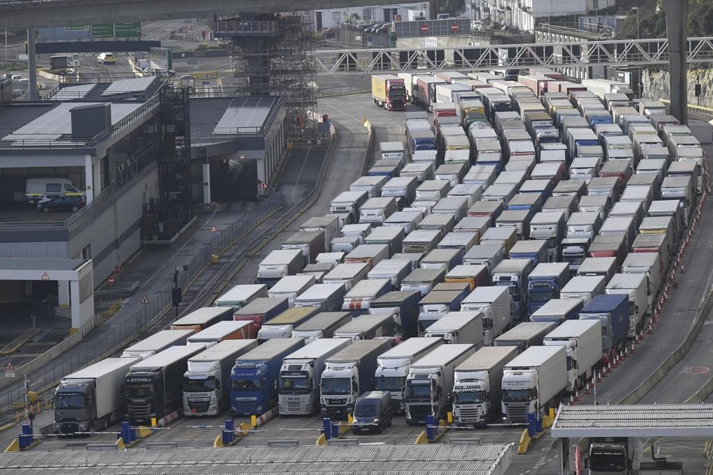 afp. kamion szállítmányozás Brexit
