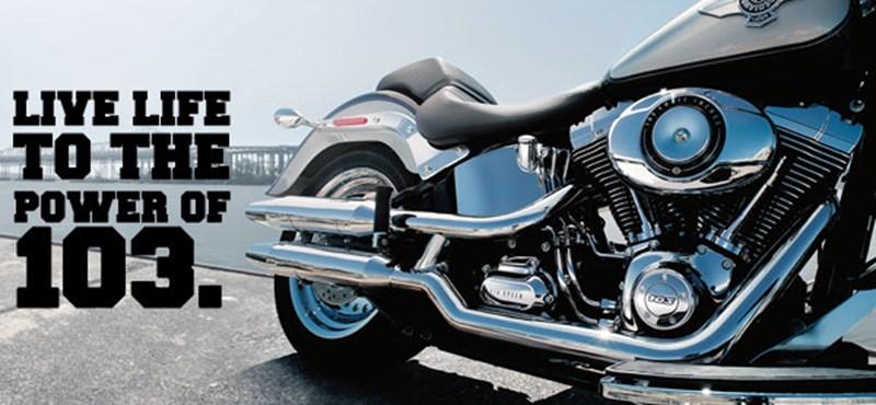 A Harley Davidson biztosra ment