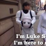 Star Wars-paródia készült az utcai zaklatásos videóból
