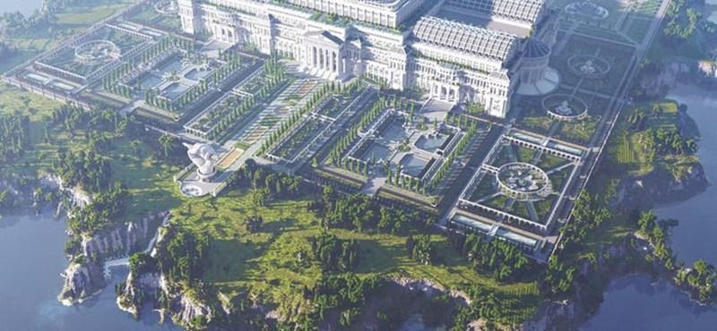 A Minecraftban építettek könyvtárat az írásoknak, amelyeket letiltottak a kormányok