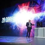 Itt az Intel nagy bejelentése: kész a 28 (!) magos processzor