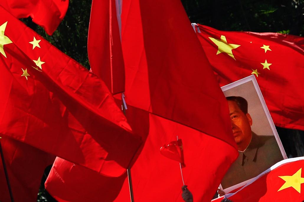 zigetvita - Japán-ellenes tüntetés Kínában, hét képei