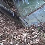 Így néz ki egy autó, ami 20+ évig volt félig a földbe temetve