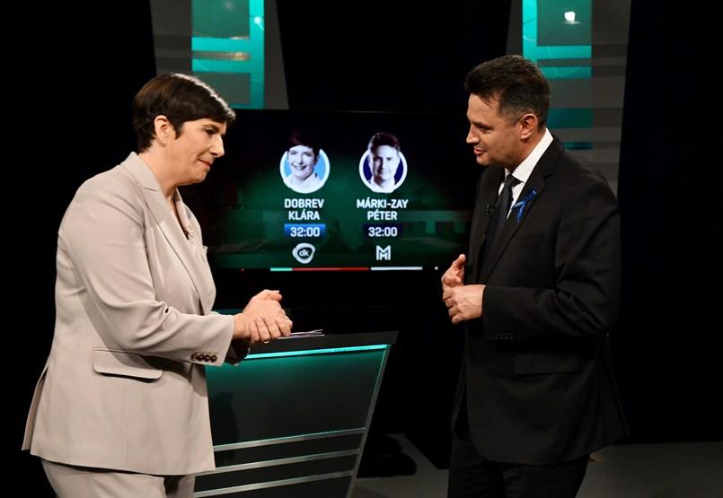 Dobrav and Markey-Jane debate: A fight between boss and hairdresser