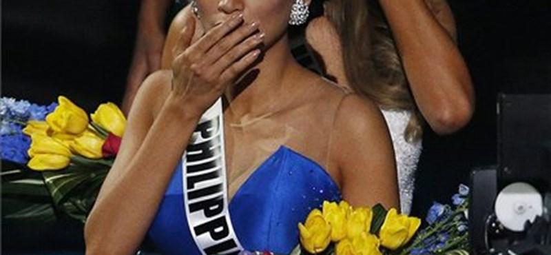 Hatalmas baki történt a Miss Universe eredményhirdetésén – fotó