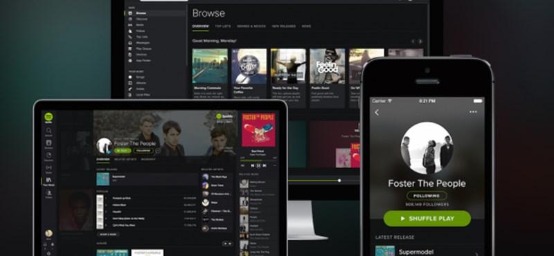 Európában a Spotify már az Apple-t is lenyomja