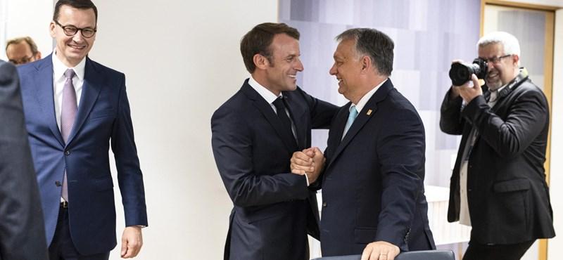 Ma fut össze Orbán és Macron