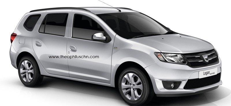 Jön a Dacia Logan kombi és pick-up is?