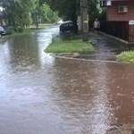 Medencényi eső hullott az országra, volt, ahol utcákat lepett el a víz – fotók