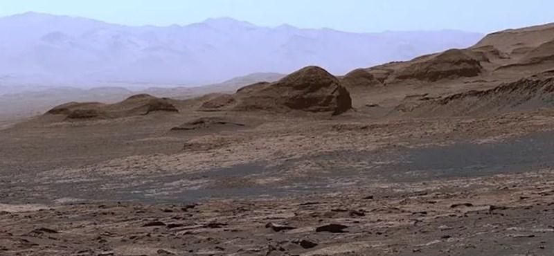Llegó un panorama maravilloso de Marte, es increíble lo lejos que se puede ver