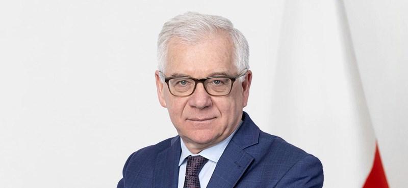 Lemondott a lengyel külügyminiszter
