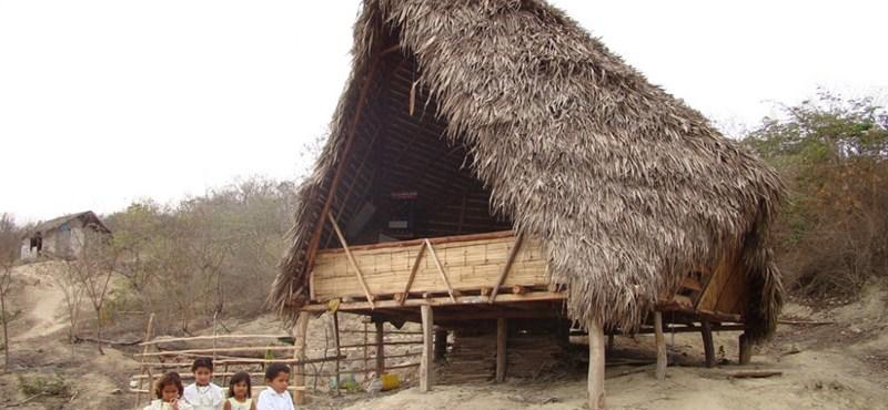 Tengerparti iskola egy romantikus halászfaluban (fotókkal)