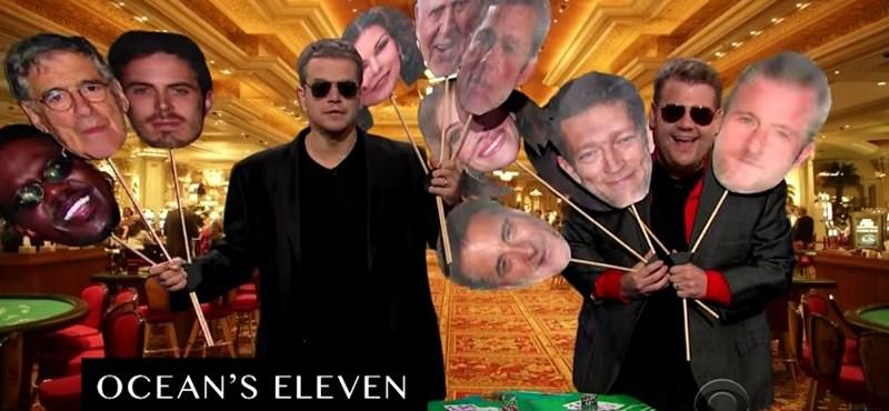 Videó: Matt Damon is eljátszotta a karrierjét pár percben