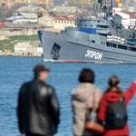 Súlyos orosz-ukrán katonai konfliktus zajlik a Krím-félszigetnél
