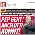 München: Guardiola megy, Ancelotti jön