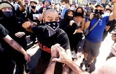 Összecsaptak az USA-ban a Trump mellett és ellen tüntetők