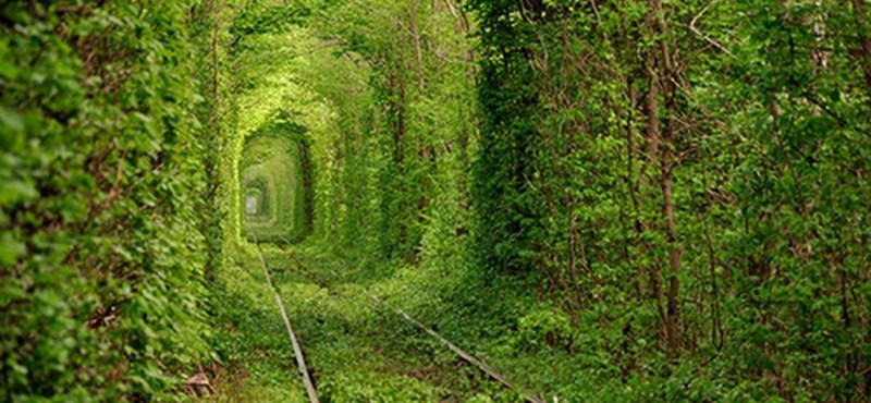 Ukrán vasúti alagút - 100 százalékosan környezetbarát