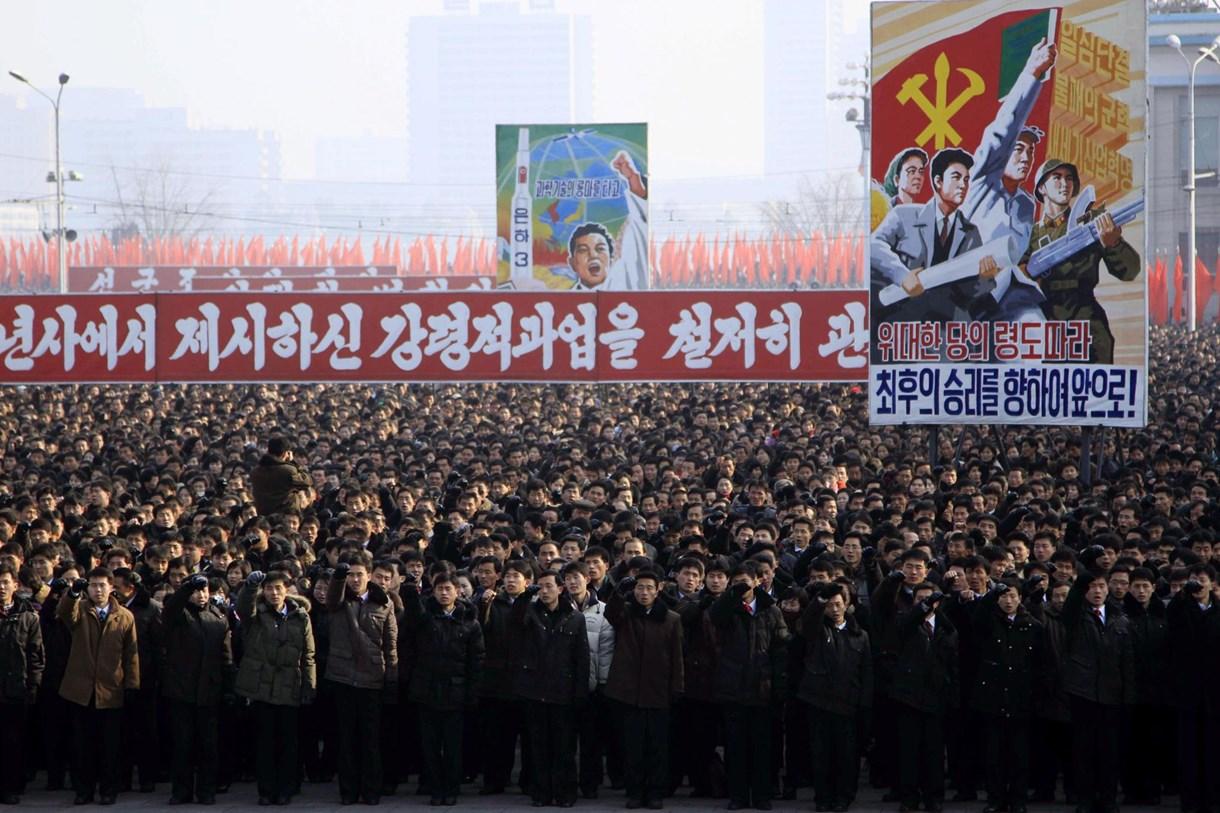 Fotó: Masszívan indult az új év Észak-Koreában