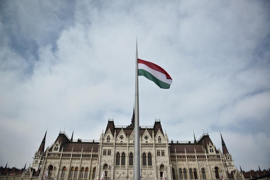SA. 2014. március 15. Nemzeti ünnep, Budapest, Kossuth tér, Orbán Viktor